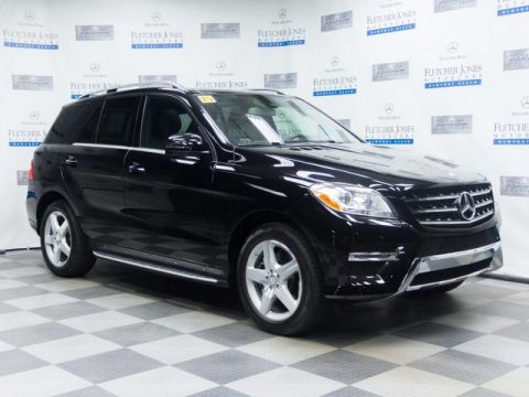 Certified Pre-Owned 2015 Mercedes-Benz ML250 BlueTEC® 4MATIC®