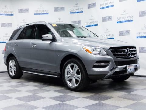 Certified Pre-Owned 2012 Mercedes-Benz M-Class ML350 AWD 4MATIC®