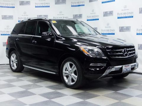 Certified Pre-Owned 2013 Mercedes-Benz ML350 4MATIC®