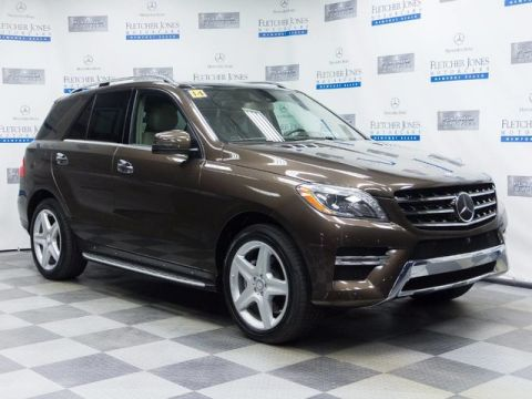 Certified Pre-Owned 2014 Mercedes-Benz ML350 Rear Wheel Drive SUV