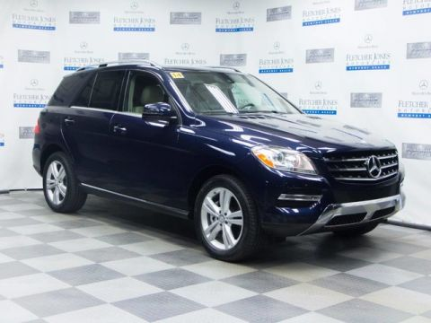 Certified Pre-Owned 2014 Mercedes-Benz ML 350 Rear Wheel Drive SUV