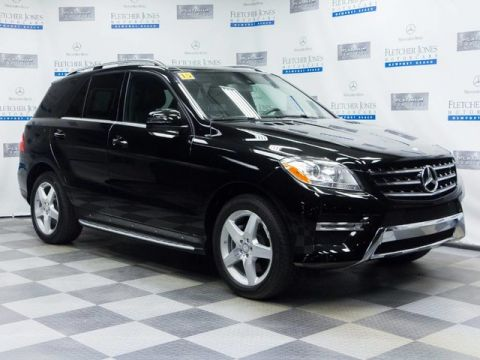 Certified Pre-Owned 2015 Mercedes-Benz ML350 Rear Wheel Drive SUV
