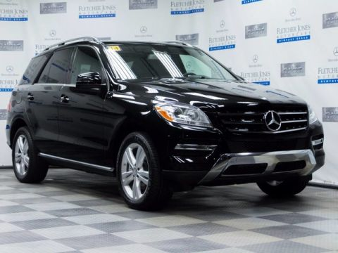 Certified Pre-Owned 2014 Mercedes-Benz M-Class ML350 SUV