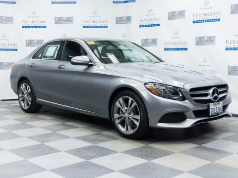 Certified Pre-Owned 2015 Mercedes-Benz C300 Rear Wheel Drive Sedan