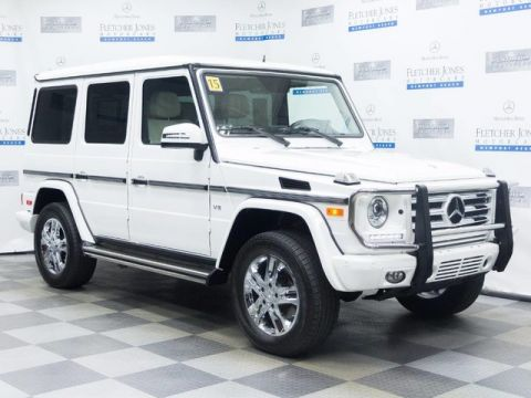 Certified Pre-Owned 2015 Mercedes-Benz G550 4MATIC®