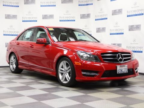 Certified Pre-Owned 2014 Mercedes-Benz C-Class C250 Sport Sedan