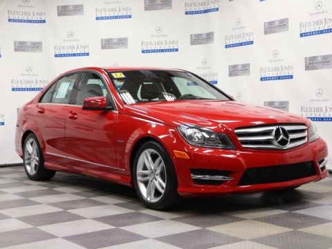 Pre-Owned 2012 Mercedes-Benz C-Class C250 Sport Sedan