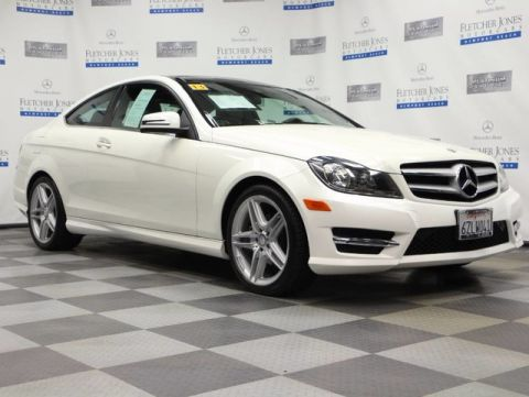 Pre-Owned 2013 Mercedes-Benz C-Class C250 Coupe