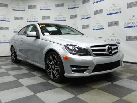 Certified Pre-Owned 2013 Mercedes-Benz C-Class C350 Coupe