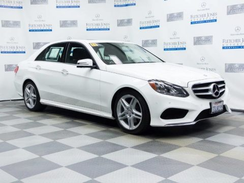 Certified Pre-Owned 2014 Mercedes-Benz E350 Sport Rear Wheel Drive Sedan