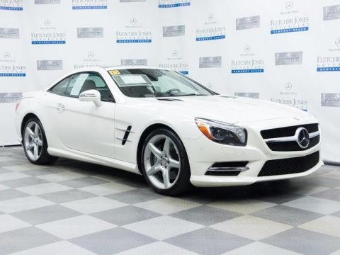 Certified Pre-Owned 2015 Mercedes-Benz SL400 Rear Wheel Drive Convertible