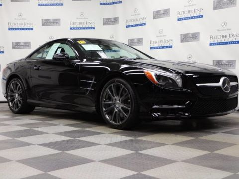 Pre-Owned 2013 Mercedes-Benz SL-Class SL550 Convertible