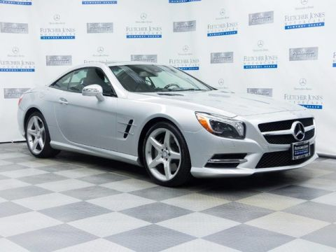 Certified Pre-Owned 2014 Mercedes-Benz SL550 Rear Wheel Drive Convertible