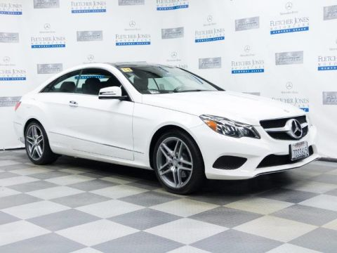 Certified Pre-Owned 2014 Mercedes-Benz E350 Rear Wheel Drive Coupe