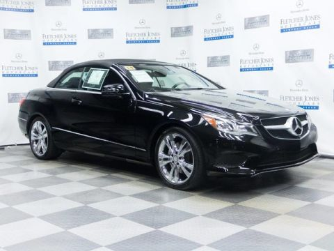 Certified Pre-Owned 2014 Mercedes-Benz E350 Rear Wheel Drive Convertible