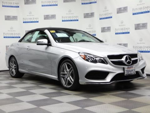 Certified Pre-Owned 2014 Mercedes-Benz E-Class E550 Convertible