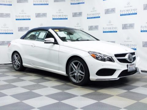 Certified Pre-Owned 2015 Mercedes-Benz E550 Rear Wheel Drive Convertible