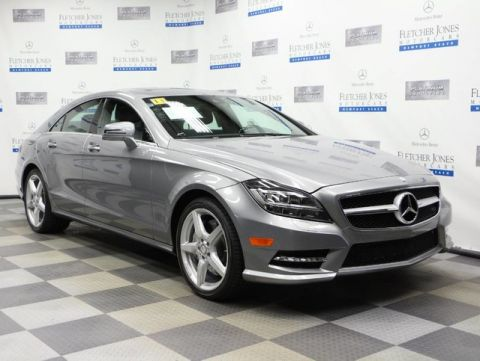 Certified Pre-Owned 2013 Mercedes-Benz CLS CLS550 Coupe