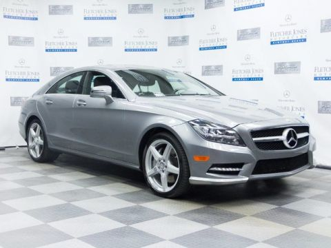 Certified Pre-Owned 2014 Mercedes-Benz CLS550 Rear Wheel Drive Coupe