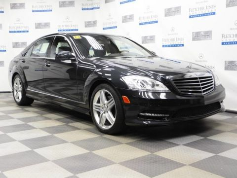 Certified Pre-Owned 2013 Mercedes-Benz S-Class S550 Sedan