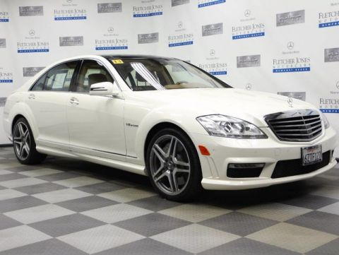 Certified Used Mercedes-Benz S-Class S63 AMG