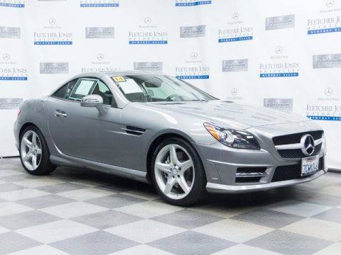 Certified Pre-Owned 2014 Mercedes-Benz SLK250 Rear Wheel Drive Convertible