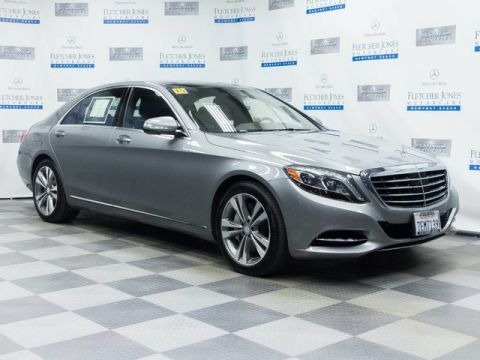 Certified Pre-Owned 2015 Mercedes-Benz S550 Rear Wheel Drive Sedan