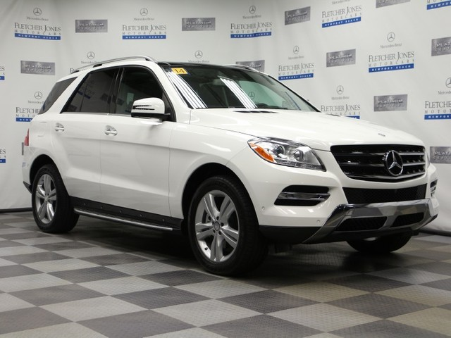 Certified Pre-Owned 2014 Mercedes-Benz M-Class ML350 Rear Wheel Drive SUV
