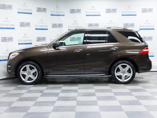 Certified Pre-Owned 2014 Mercedes-Benz M-Class ML350