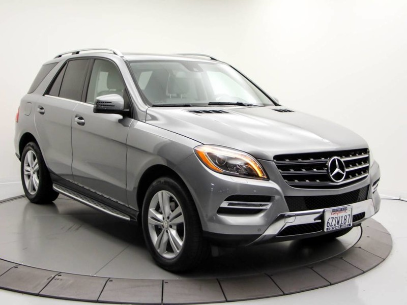 Certified Pre Owned 2013 Mercedes Benz M Class ML 350