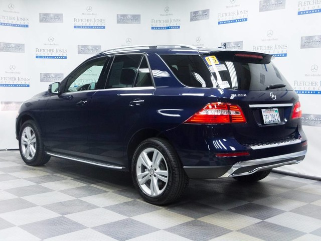 Certified pre owned 2015 mercedes benz m class ml350 suv for Mercedes benz ml350 2015