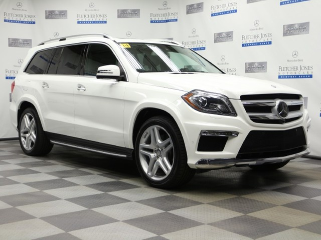 Certified Pre-Owned 2014 Mercedes-Benz GL-Class GL550 4MATIC All Wheel Drive SUV