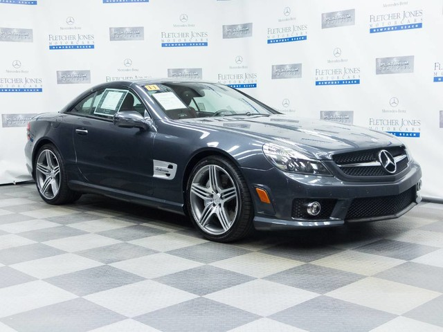 Certified Pre-Owned 2011 Mercedes-Benz SL-Class SL63 AMG®