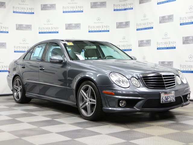 Pre-Owned 2009 Mercedes-Benz E-Class E63 AMG Rear Wheel Drive Sedan