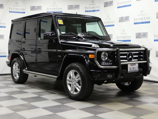 Certified Pre-Owned 2013 Mercedes-Benz G-Class G550 All Wheel Drive SUV