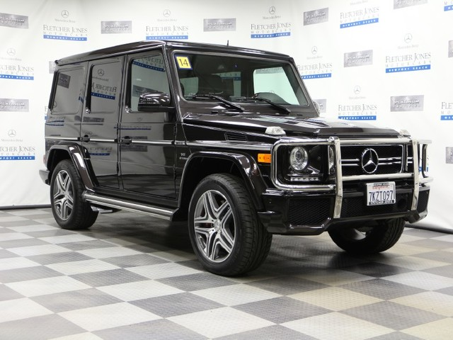 Certified Pre-Owned 2014 Mercedes-Benz G-Class G63 AMG All Wheel Drive SUV