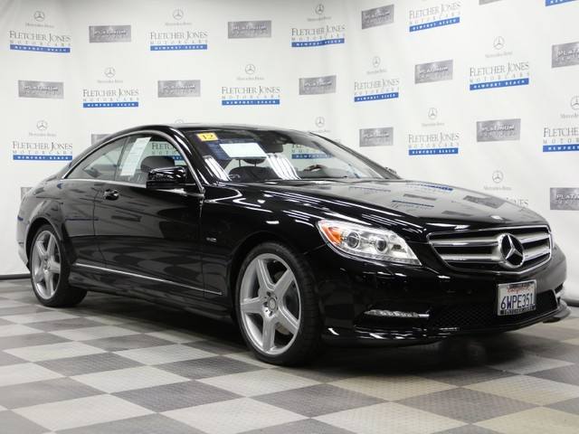 Certified Pre-Owned 2012 Mercedes-Benz CL-Class CL550 4MATIC All Wheel Drive Coupe