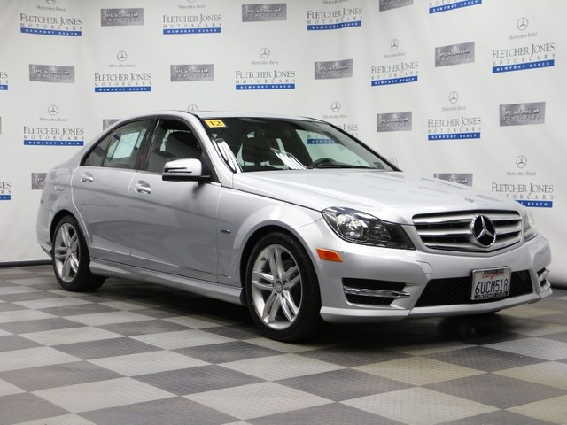 Pre-Owned 2012 Mercedes-Benz C-Class C250 Sport Rear Wheel Drive Sedan