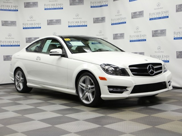 Certified Pre-Owned 2014 Mercedes-Benz C-Class C250 Rear Wheel Drive Coupe