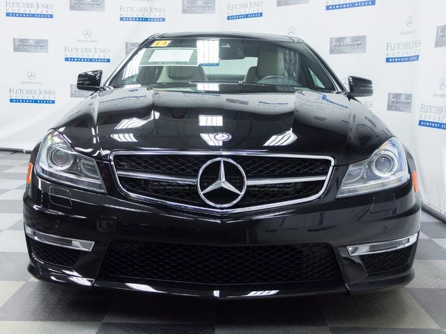 Certified Pre-Owned 2013 Mercedes-Benz C 63 AMG Rear Wheel Drive Coupe