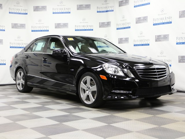 Pre-Owned 2012 Mercedes-Benz E-Class E350 Sport Rear Wheel Drive Sedan