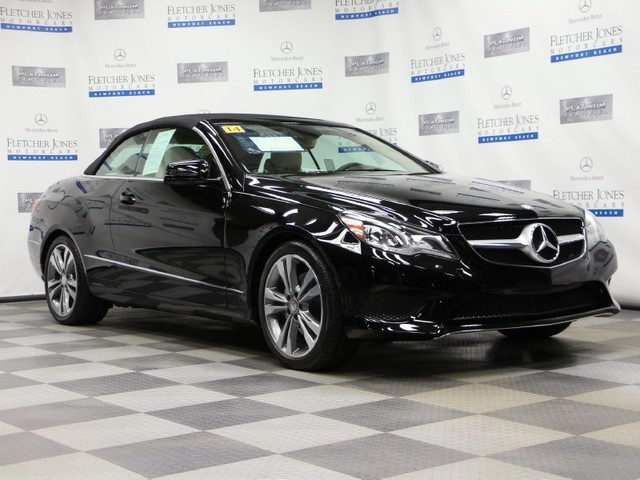Certified Pre-Owned 2014 Mercedes-Benz E-Class E350 Rear Wheel Drive Convertible