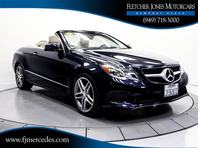 Certified Pre Owned 2017 Mercedes Benz E Cl 350