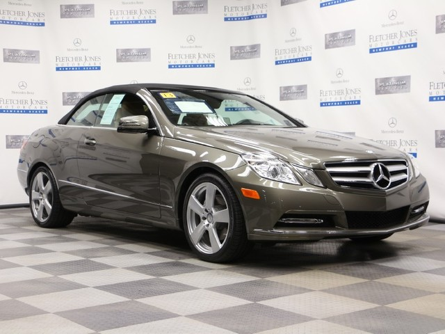 Certified Pre-Owned 2013 Mercedes-Benz E-Class E350 Rear Wheel Drive Convertible