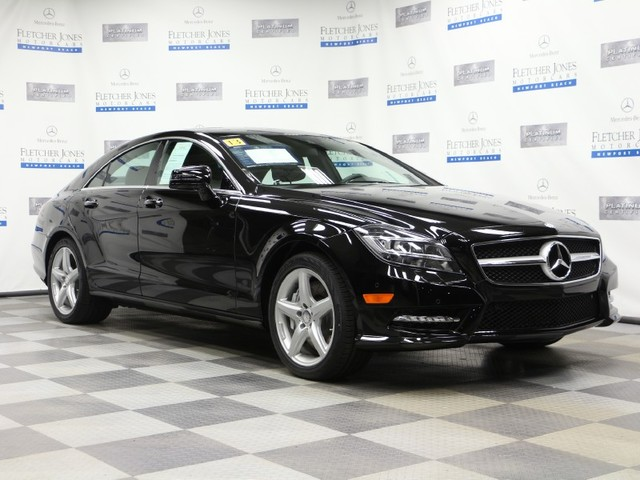Certified Pre-Owned 2013 Mercedes-Benz CLS CLS550 Rear Wheel Drive Coupe