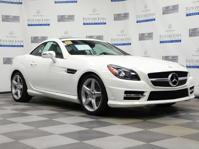 Certified Pre-Owned 2015 Mercedes-Benz SLK SLK250 Rear Wheel Drive Convertible