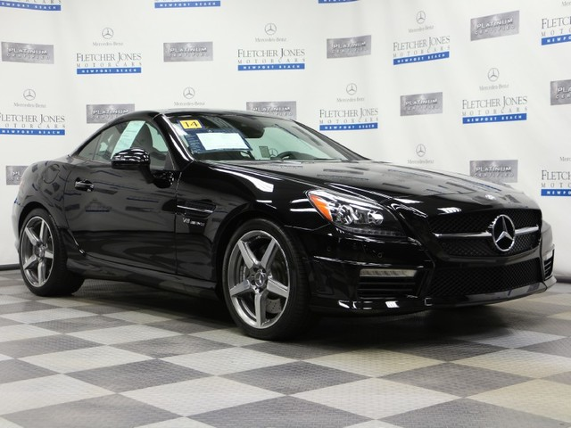 Certified Pre-Owned 2014 Mercedes-Benz SLK SLK55 AMG Rear Wheel Drive Coupe