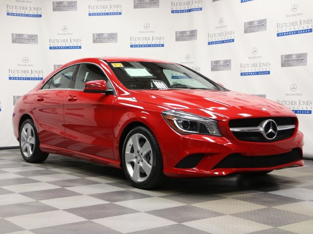 Pre-Owned 2015 Mercedes-Benz CLA CLA250 Front Wheel Drive Coupe