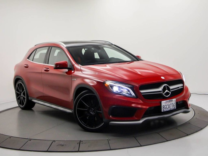 Certified Pre Owned 2017 Mercedes Benz Gla Amg Gla 45 Suv In