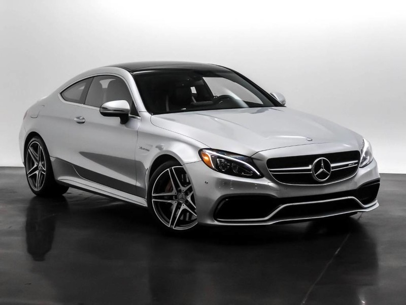 Pre-Owned 2017 Mercedes-Benz C-Class AMG® C 63 S Rear Wheel Drive Coupe
